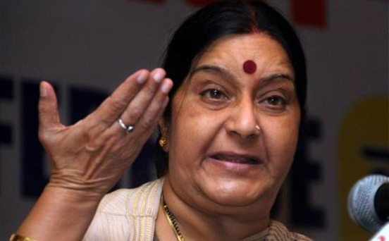 PM has lost his grace, tweets Swaraj