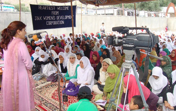 JKWDC Conducts Awareness Camp at Kargil