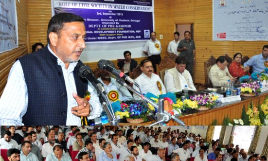 Sham for massive awareness campaign on judicious use of water