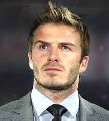 football star David Beckham