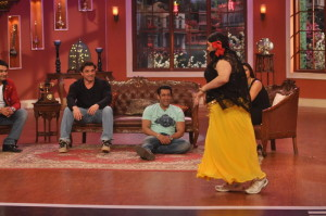 Promotion of film Jai Ho on sets of Comedy Nights with Kapil (4)
