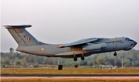Air force air cargo IL 76