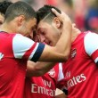 Arsenal beats Everton to enter FA Cup semis