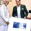 Hamid Ansari and Babar 1