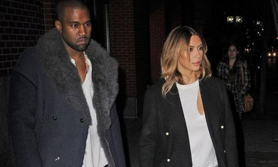 Kim, Kanye to spend 75,000 pounds on wedding guests