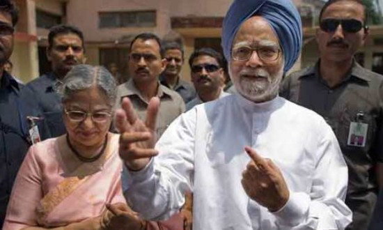 PM casts his vote in  Guwahati