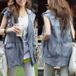 Spring-summer fashion 2014 Sleeveless jackets