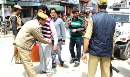 Stone pelting prevents voters from reaching Anantnag booths