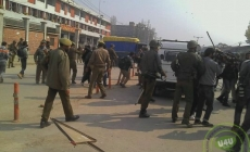 Clashes in Srinagar after march foiled