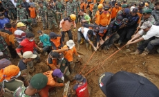 12 bodies recovered in Indonesia landslide