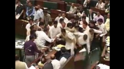VIDEO: NC leaders come to blows; disrupt the House