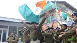 CRPF men gear up to cheer Indian Cricket Team