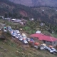 Heavy Jam on highway near Kud-Patnitop due to heavy rains