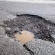 Rising potholes in the city troubling commuters