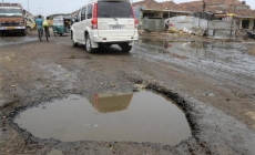 Incessant rains resulting in a more wretched road infrastructure