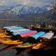 Valley brightens up after incessant rains; tourists enjoy the sun kissed Dal lake