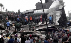 113 feared dead in Indonesian military plane crash