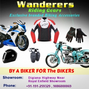 Wanderers Riding Gears and Biking Accessories