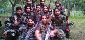 Newly recruited terrorist group's pictures on Facebook alerts the security agencies in Kashmir
