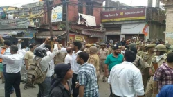 BJP office in Kachi Chawniattacked; members blame ACC for the ill act