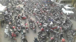 Traffic Department seizes 1878 two-wheelers in past 2 days