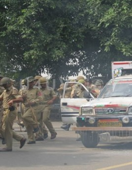 Another tense day in Vikram Chowk and Gandhi Nagar- Jammu Bandh Day 2
