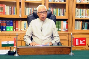 THE GOVERNOR ADDRESSING ON THE EVE OF INDEPENDENCE DAY-14