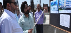 Altaf Bukhari conducts extensive tour of Jammu city; Inspects progress on key infrastructure projects