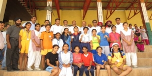 Inter School District Level Athletic Meet Girls All Age Group concludes