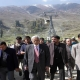 Mufti tours Gulmarg for appraisal of ongoing works; foresees winter tourist arrivals matching summers in future