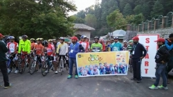 13th Khyber Tour de Kashmir cycling expedition starts from South Kashmir