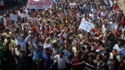 Video | Thousands come on road to protest against govt