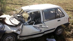 One dies, 2 injured in a road accident