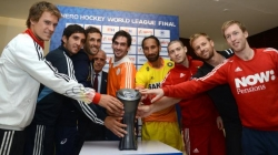 Hockey World League Finals trophy unveiled