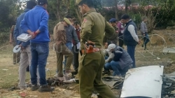 IN PICS   DGCA started investigating at helicopter crash spot in Katra