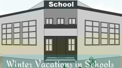 Winter Vacations in Schools in Kashmir Division/winter zones of Jammu Division