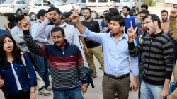 JNU students union's head arrested for sedition