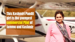 Tanvi Raina is the youngster commercial pilot of Jammu and Kashmir