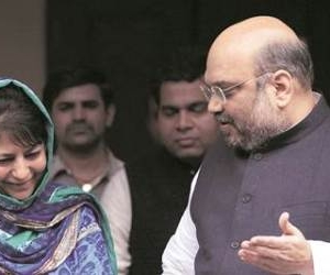 Chances of BJP-PDP govt in J&K dim as Mehbooba, Amit Shah meeting fails to end impasse