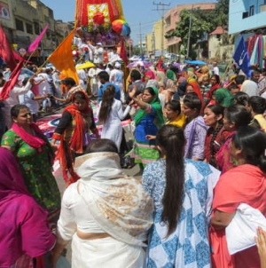ISKCON takes out a brilliant Jagannath Rath Yatra