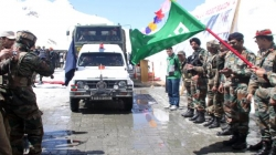Srinagar-Leh highway re-opens after five-month closure