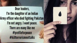 Her father died in Kargil; she wants to make peace with Pakistan