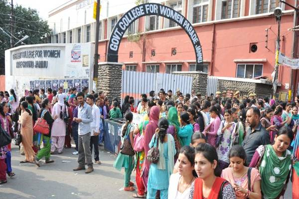 Classes Resume At Protest Hit Womens College In Jammu